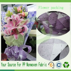 polypropylen flower material fabric