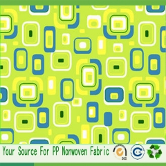 nonwoven printed fabric