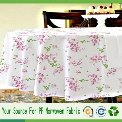china manufacture disposable tablecloth
